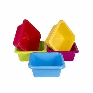 Camping afwasteil / afwasbak geel 8 liter