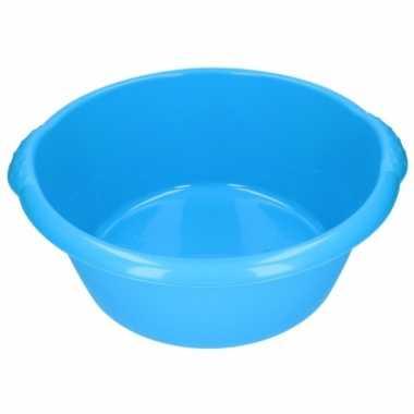 Grote afwasteil blauw 25 l 50 cm