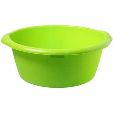 Grote afwasteil groen 25 l 50 cm