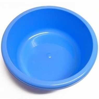 Rond afwasteiltje / afwasbak blauw 6,2 liter