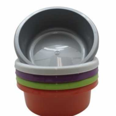Rond afwasteiltje / afwasbak groen 6,2 liter